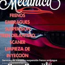 Servicios de mecánico