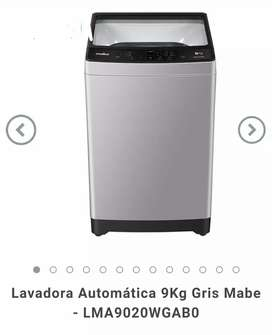 Lavadora Mabe 9Kg Gris