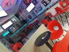 Venta café bar centro comercial