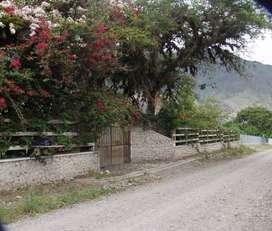 AMBUQUI, Hermosa propiedad con proyecto turístico para camping u hostal