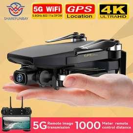 Drone Sg108 Gps 4k Motor Brushless + Bolso -250 Gramos