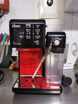 Cafetera Automática Primalatte -19 Bares Negro Y Rojo