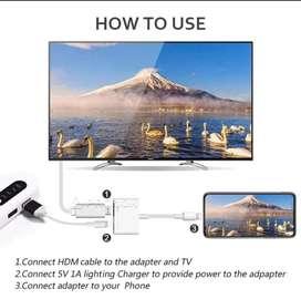 Adaptador Lighting a HDMI IPHONE