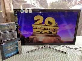 Como Nuevo Samsung Led 40 Pulgadas Full Hd 3d Súper Delgado