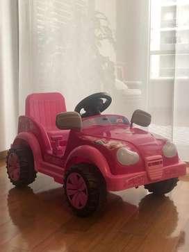 Autito a bateria Barbie