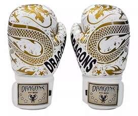 Vendo guantes de Boxeo Premium Dragons nuevos 12 oz
