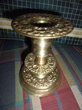 candelabro antiguo de mesa de 15cm