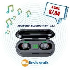 AUDIFONOS BLUETOOTH F9 V5.1