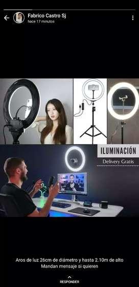 Aro de iluminación / Delivery Gratis