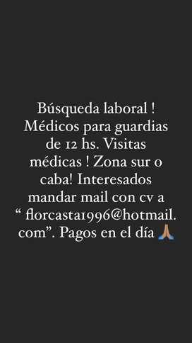 Médicos para visitas médicas