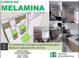 CURSO DE MELAMINA  -  ! TU PROYECTO NUESTRO COMPROMISO ! !