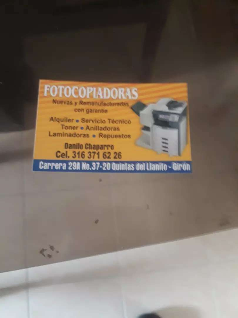 Servicio técnico dé fotocopiadoras  sharp y ricoh