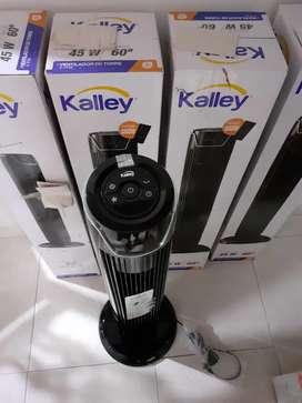 Torre ventilador Kalley con control