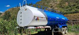 Se Vende Cisterna de Agua Semi Remolque