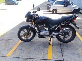 Vendo moto Suzuki GSX150 modelo 2011 en excelentes condiciones SOAT y Tecnicomecánica hasta Julio 2021