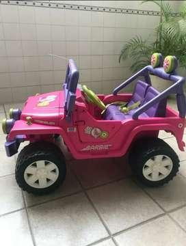 Carro electrico para niña con radio