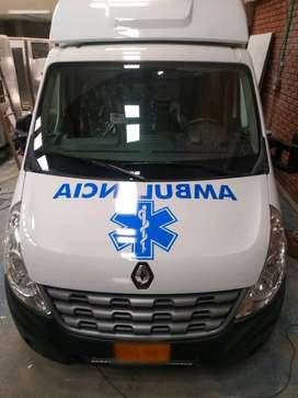 fabricación de ambulancias y carros especiales