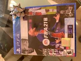 Fifa 21 para PS4 sellado