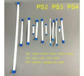 Flex Ps2 Ps3 Ps4 Slim Cable Encendido Reset Playstation 2