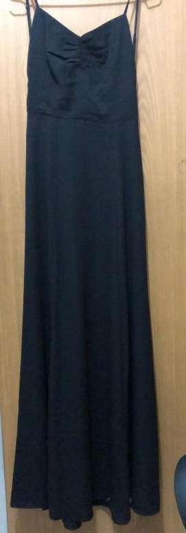 Vestido Forever 21 Color Negro Elegante