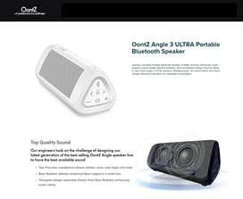 Parlante Blanco Oontz Angle 3 Ultra 14w 20h Bluetooth