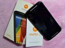 Moto G2 y Samsung grand prime