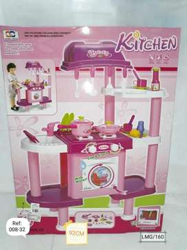 Cocina para niñas con lavadora