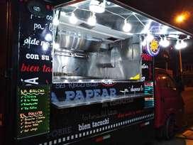 Camión de Comidas - Food Truck - Fast Food        Hyundai H100 2007