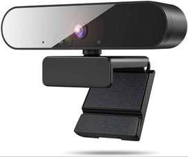 Cámara Web Con Micrófono, Eauoh 1080p Webcam Usb 2.0