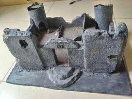 Castillo en ruinas para playmobil / Lego / Juegos miniaturas