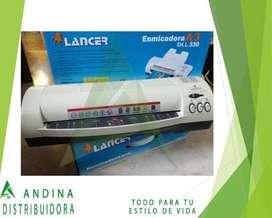 Plastificadora A3 Profesional Lancer Suministro, Oficina