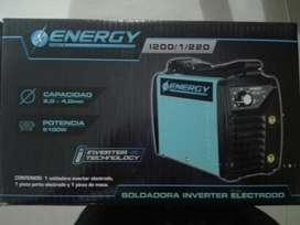 Soldadora Energy 2,0-4.0mm, 200amp