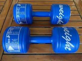 2 Pesas Mancuernas de 2 - 4 - 6 - 12 kg Aero Weight