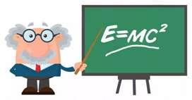 Se brinda clases de Matemática