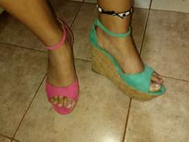 Zapato usado casi nuevo