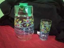 Jarra de jugo en vidrio Nueva