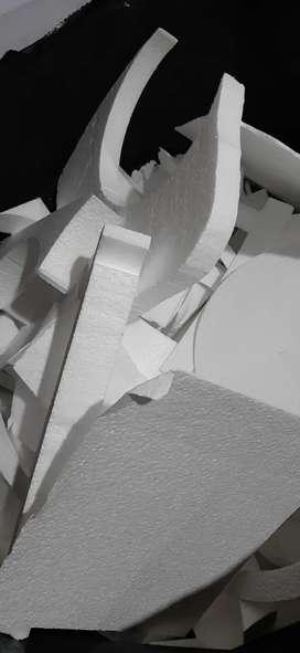 Retal de icopor de alta densidad