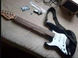 Guitarra eléctrica para zurdos.  Marca Leonard