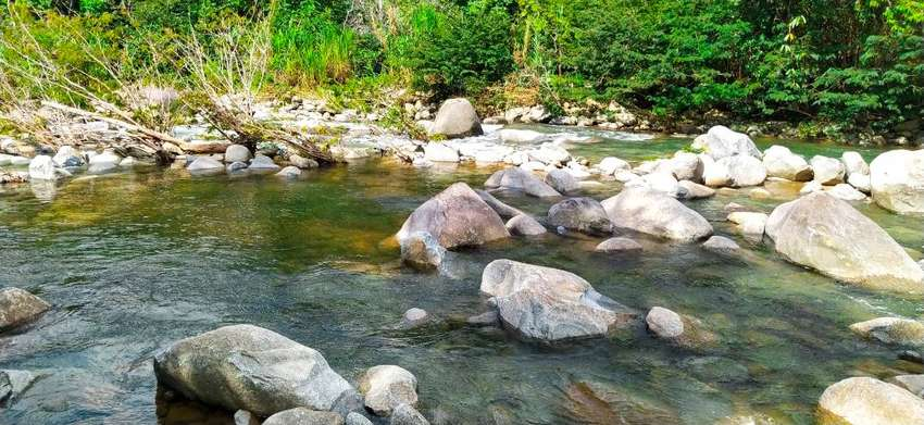hermoso lote con acceso al rio muy cristalino