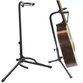 Atril Soporte Base Para Guitarra Bajo Cuello Largo