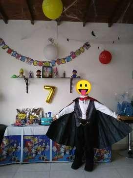 Disfraz vampiro talla 8-10