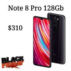 Redmi note 8 Pro 128gb gratis auriculares nuevo original con garantía
