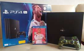 PlayStation 4 Pro + FIFA 20