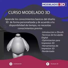 CURSO MODELADO 3D