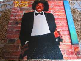 DISCO LP VINIL ACETATO, MICHAEL JACKSON, DE COLECCION.