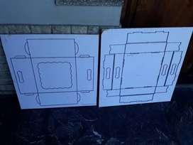 troquel sacabocado 30x30x13 caja