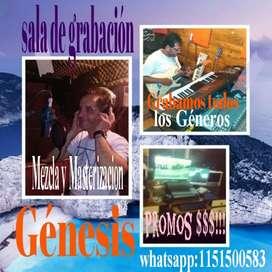 Estudio de grabación Génesis