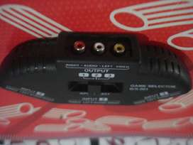 Beta Transform Game Selector B/s001, 3 Way Rca Switch More