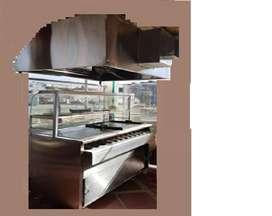 venta de maquina de arepa boyacense con campana extractora