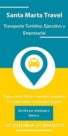 Servicio de Taxi en Santa Marta